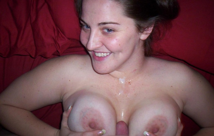 Titjob with a huge Load of Cum